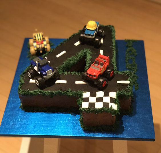 21 Blaze and the Monster Machines Party Ideas - Pretty My ...