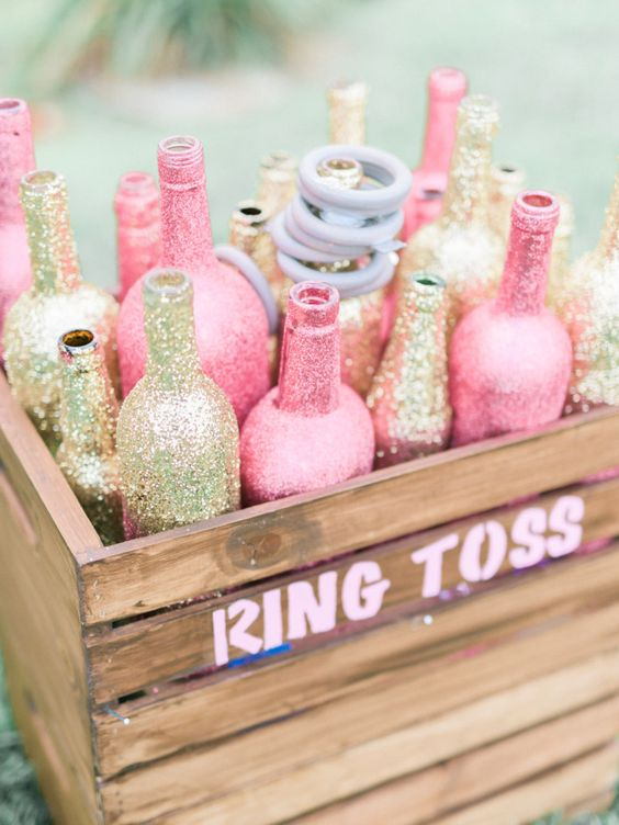 Bling Ring Toss Game | Bridal Shower Game Ideas | Pretty My Party