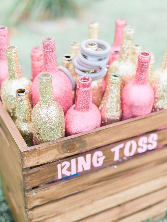 Bling Ring Toss Game - Bridal Shower Games