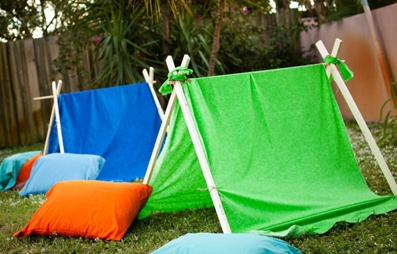 Outdoor Camping Tents for Camping Party | Pretty My Party