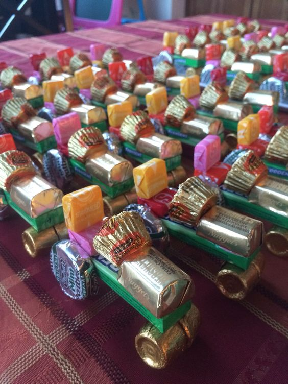 Candy Tractor Party Favors - John Deere Party - Pretty My Party