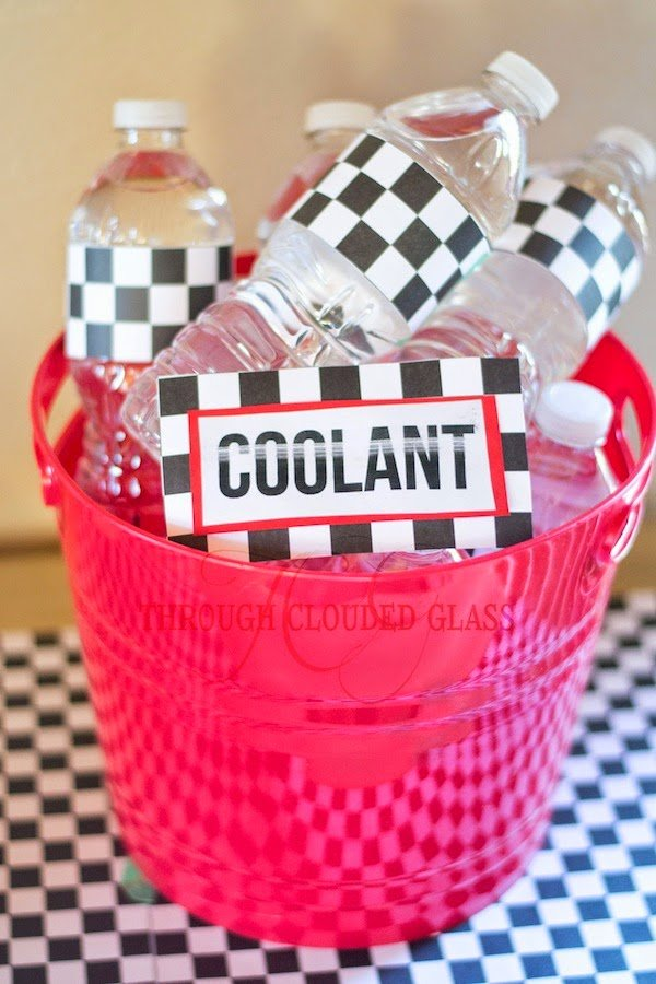 "Disney Cars ""Coolant"" Drink Idea 