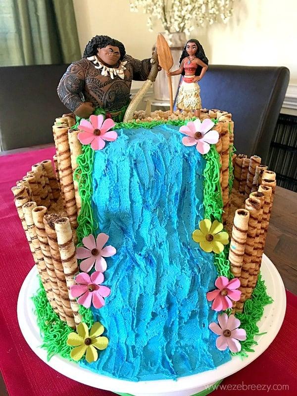 Disney Moana Birthday Cake - Moana Party Ideas