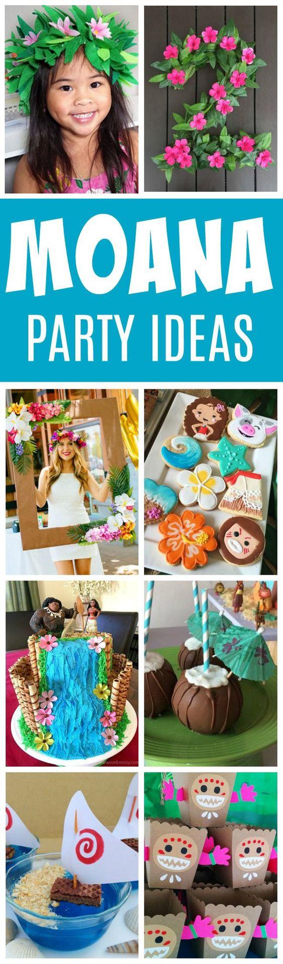 27 Disney Moana Birthday Party Ideas - Pretty My Party