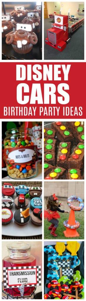 20 Disney Pixars Cars Party Ideas