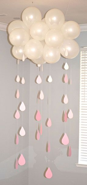 DIY Baby Shower Balloon Idea | Pretty My Party