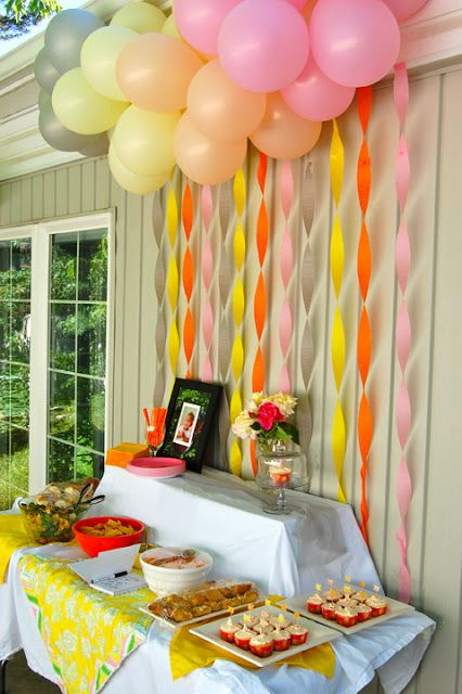 DIY Balloon Dessert Table Backdrop | DIY Balloon Ideas | Pretty My Party