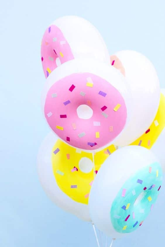 DIY Donut Balloons | DIY Balloon Party Ideas | Pretty My Party