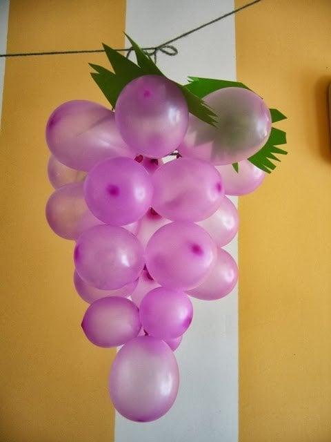 DIY Grape Balloons | DIY Balloon Ideas | Pretty My Party