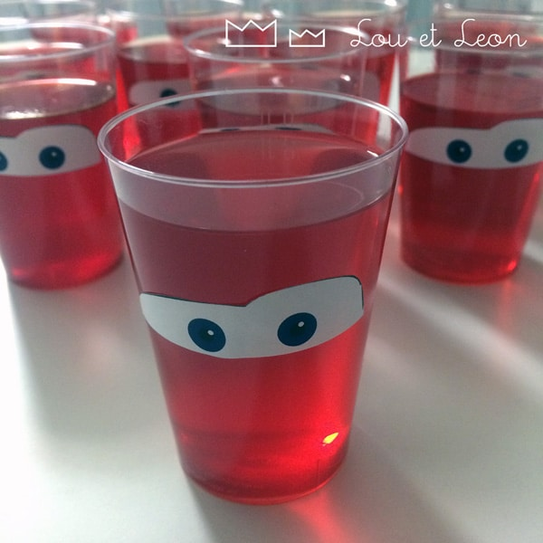 Lightning McQueen Jello Cups | Cars Party Ideas | Pretty My Party