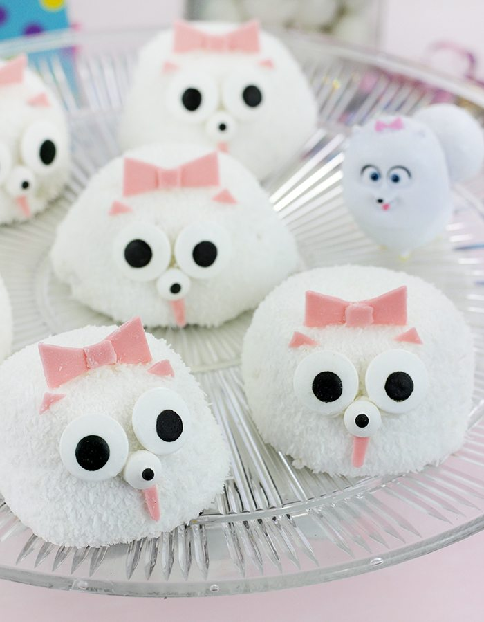 Secret Life of Pets Party Ideas | Gidget The Pomeranian Party Snacks