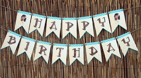 Free Disney Moana Birthday Party Printables | Pretty My Party
