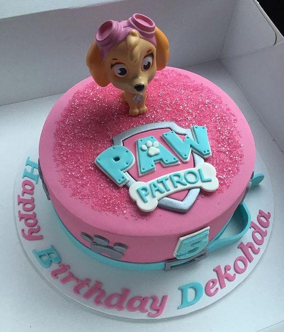 Girl Skye Paw Patrol Cake | Pretty My Party