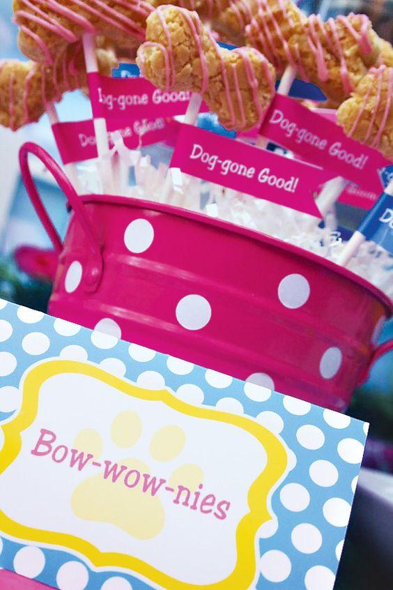 Bow-wow-nies | Girls Paw Patrol Party Ideas | Pretty My Party