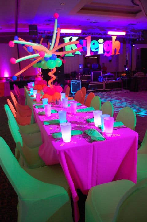 Glow in the Dark Party | Pretty My Party