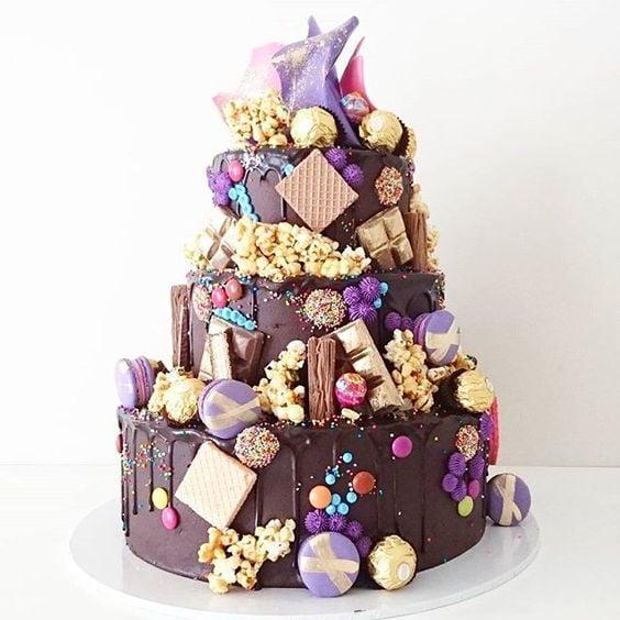 Three Tier Hero Cake   Freak Cake Trend   Pretty My Party