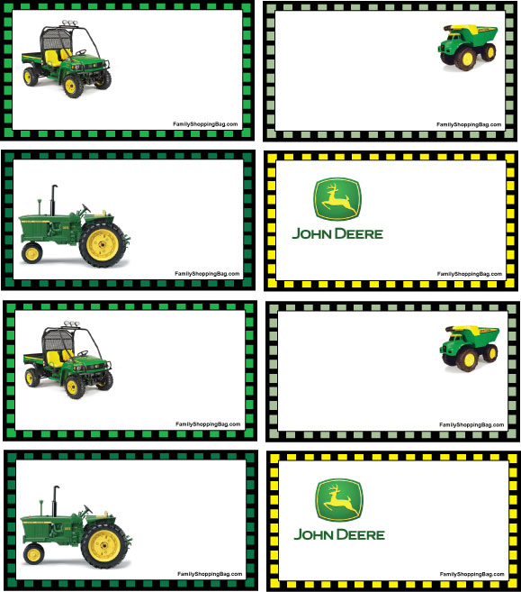 John Deere Free Party Printables | Pretty My Party