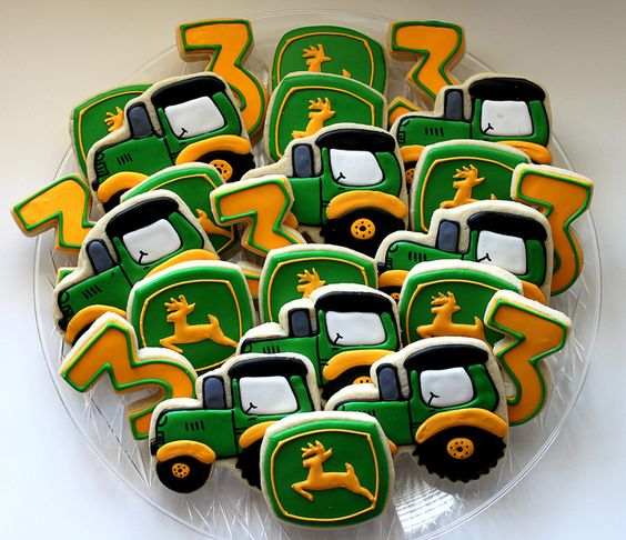 John Deere Party Cookies | Pretty My Party