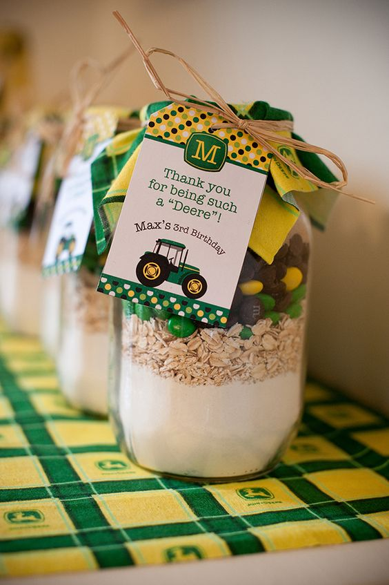 John Deere Party Favors | Pretty My Party