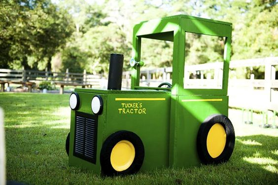 John Deere Party Tractor Prop | Pretty My Party