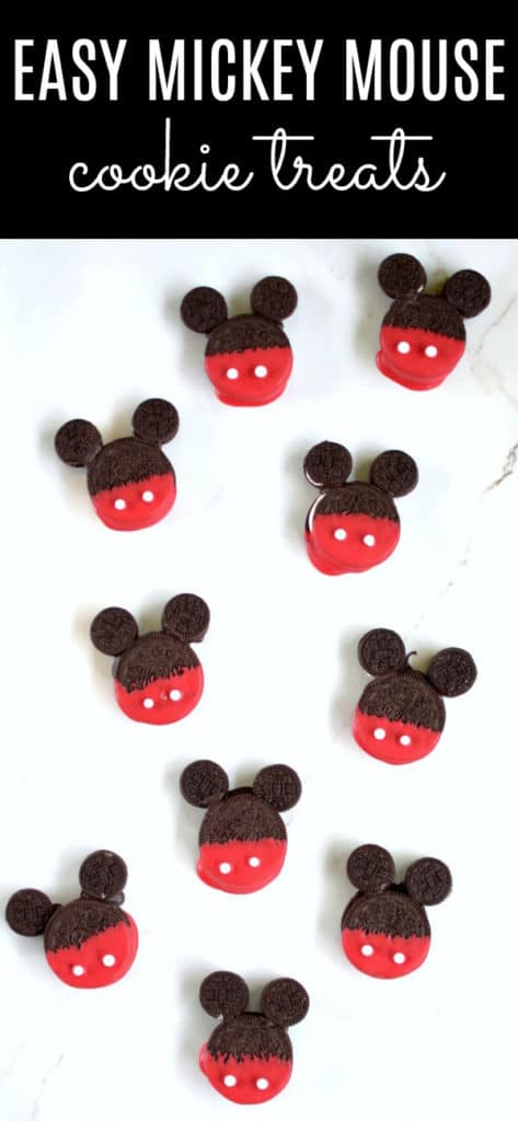 Easy Mickey Mouse Cookie Treats | Pretty My Party