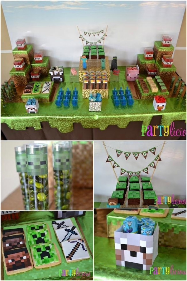 Minecraft Dessert Table