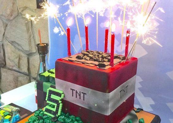 20 Kids Minecraft Party Ideas
