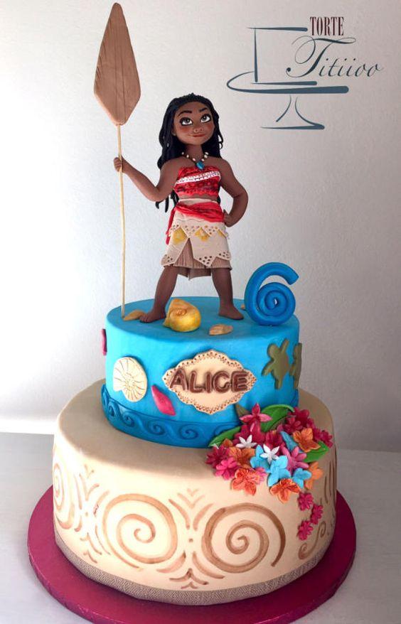Moana Cake | Moana Party Ideas | Pretty My Party
