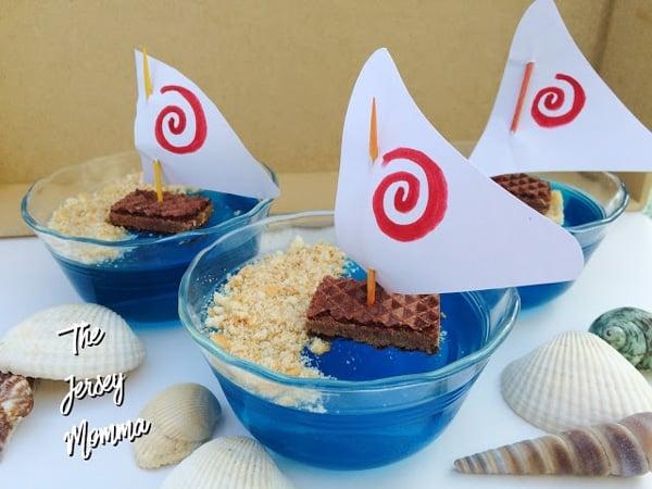 Moana Jello Boats | Moana Party Ideas | Pretty My Party