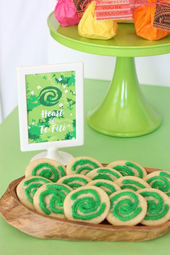 Disney Moana Party Cookies