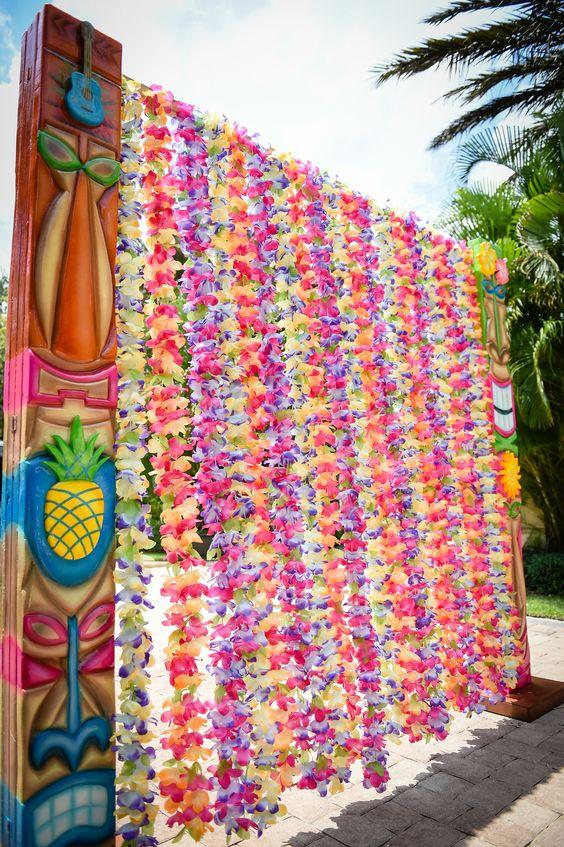 Disney Moana Party Entrance Idea