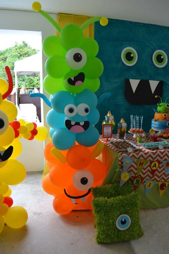 45 awesome diy balloon decor ideas pretty my party for Balloon decoration book