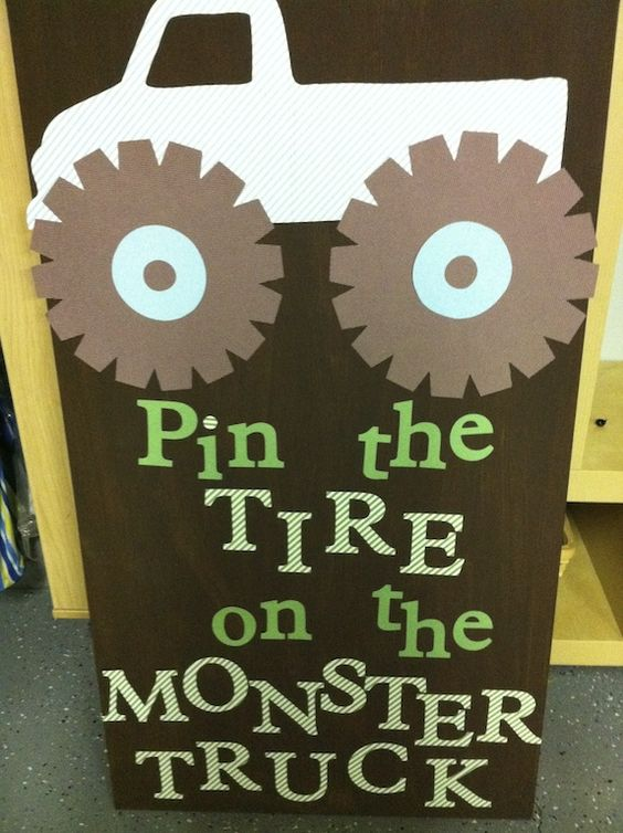 Blaze and the Monster Machine Party Game Idea
