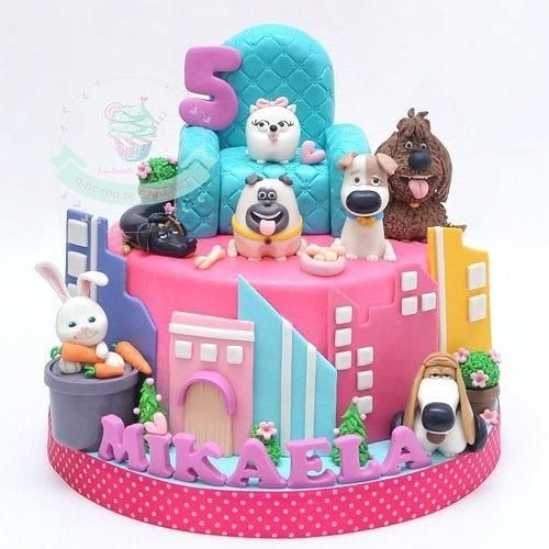 Secret Life of Pets Party Ideas | Birthday Cake