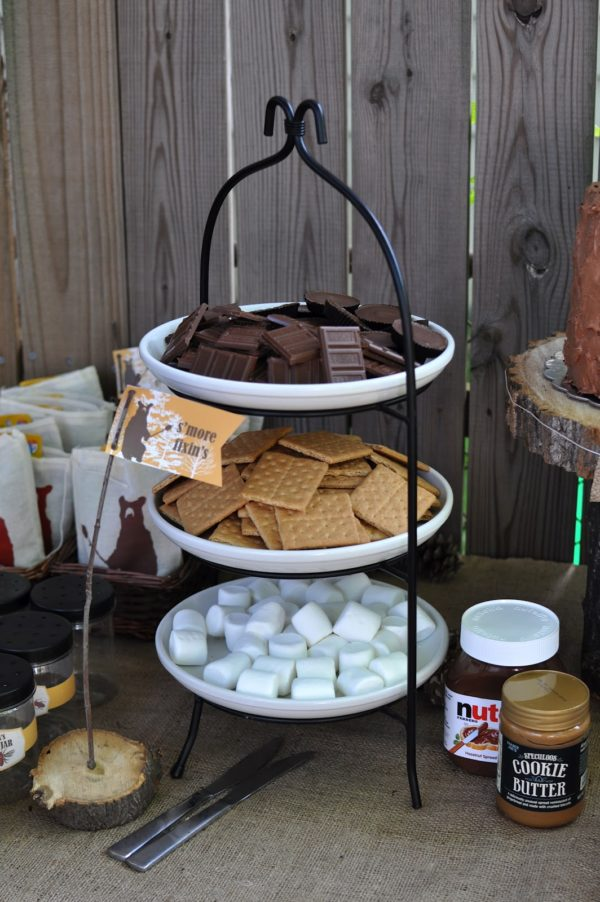 S'mores Camping Party Idea | Pretty My Party