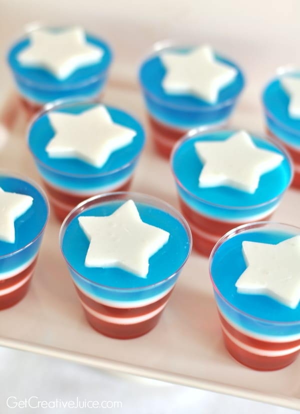 Wonder Woman Jello | Wonder Woman Party Ideas