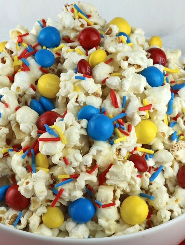 Wonder Woman Popcorn | Wonder Woman Party Ideas
