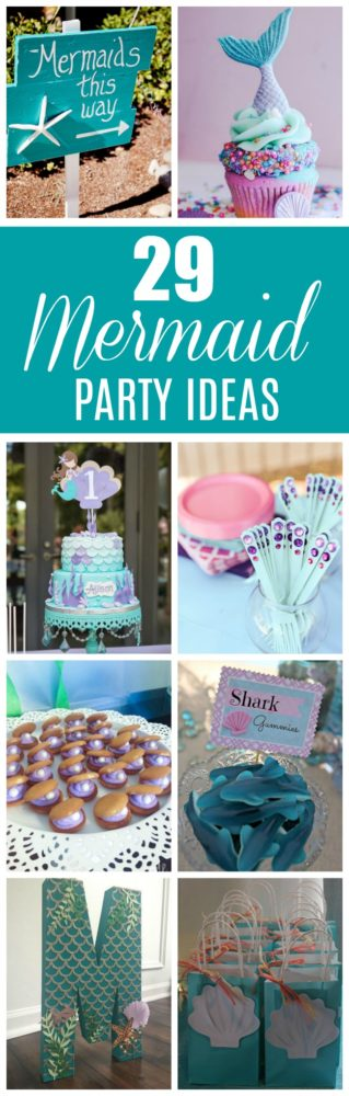 29 Magical Mermaid Party Ideas | Pretty My Party