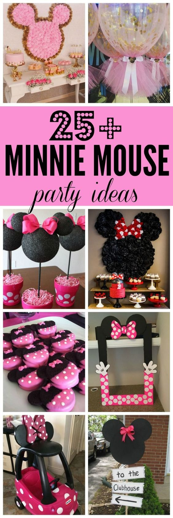 29 Minnie Mouse Party Ideas - Minnie Mouse Birthday - Pretty My Party