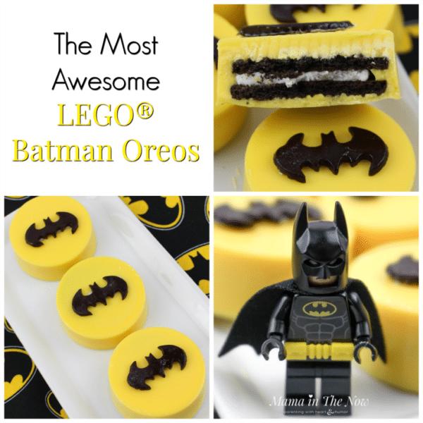 Batman Oreos   Batman Party Ideas