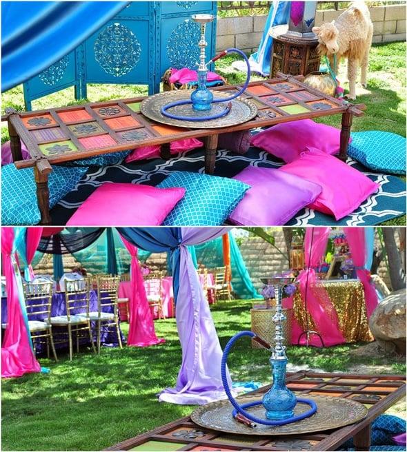 Princess Jasmine Arabian Nights Birthday Party | Pretty My Party