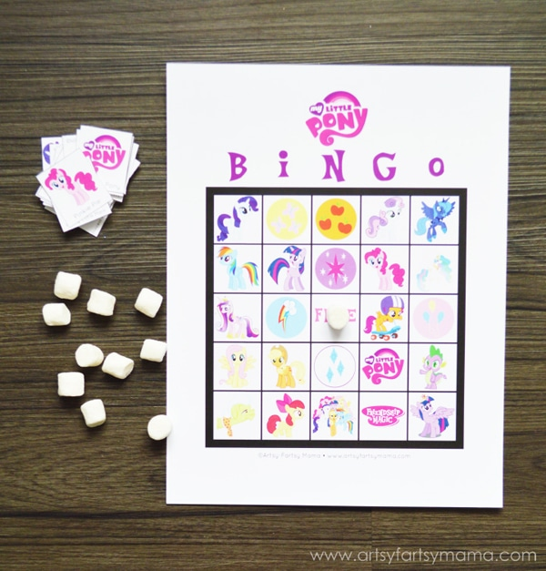Free Printable My Little Pony Bingo | My Little Pony Party Ideas