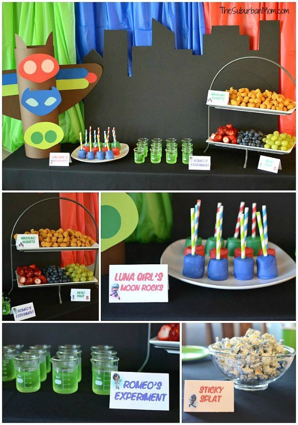 13 Fun Pj Masks Party Ideas Pretty My Party