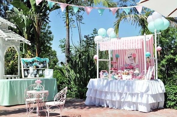 Vintage Ice Cream Birthday Party