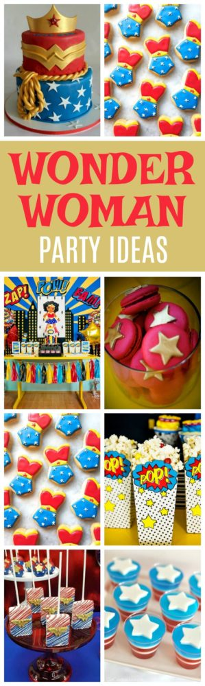 19 Wonder Woman Party Ideas