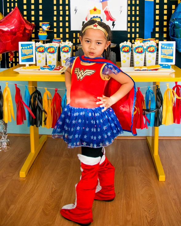 Wonder Woman Birthday Party | Pretty My Party