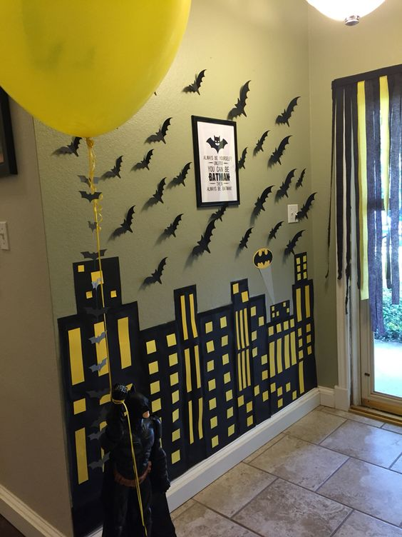 Batman Party Decorations | Pretty My Party
