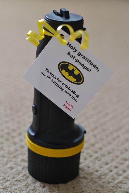 Batman Party Favor idea   Batman Party Ideas