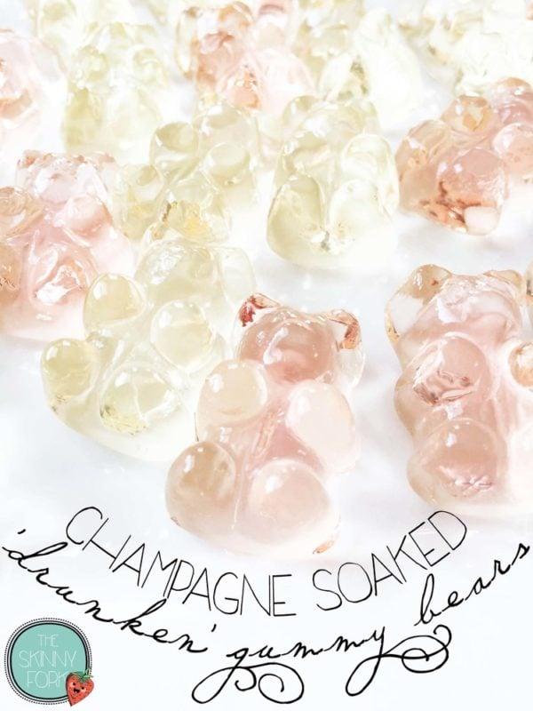 Champagne Drunken' Gummy Bears - Fun Bachelorette Party Ideas