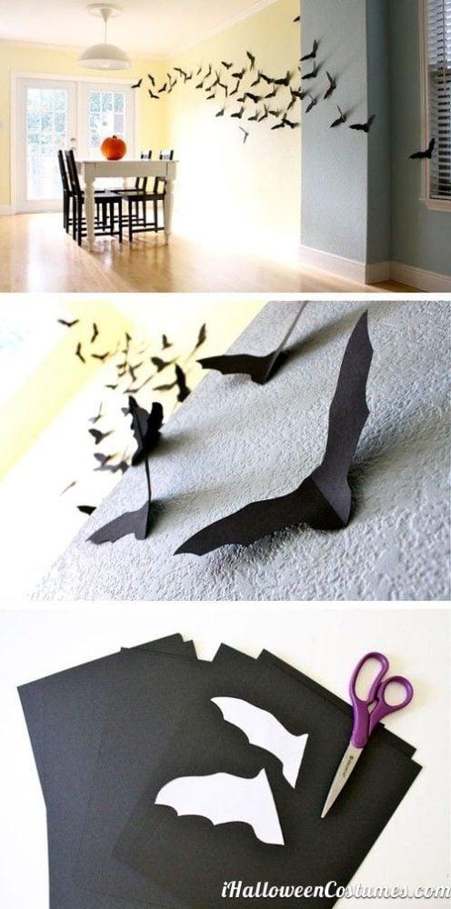 DIY Bat Party Decorations   Batman Party Ideas